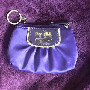 COACH mini skinny/coin purse.